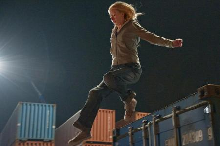 Saoirse Ronan leaps for her life in Hanna