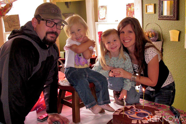 Sarah Churman and her family