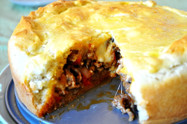 Tonight S Dinner Rustic Sausage Pie Recipe Sheknows