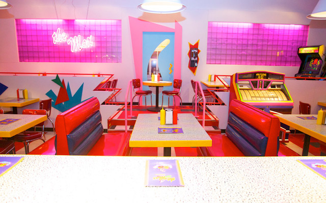 Saved by the Max diner