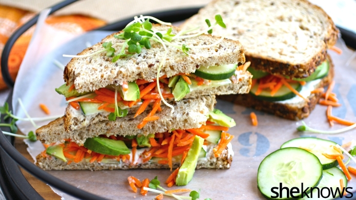 Meatless Monday: Light, fresh veggie sandwiches