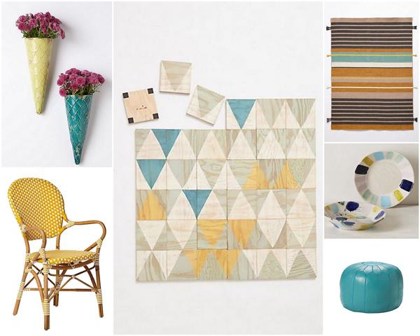 Turquoise & yellow color scheme   Sheknows.com