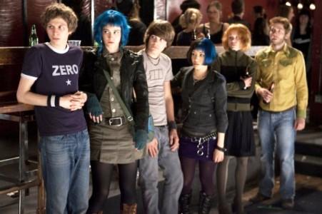 The Scott Pilgrim gang