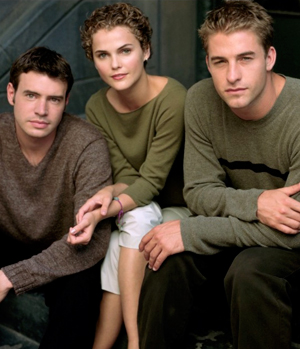 The cast of Felicity