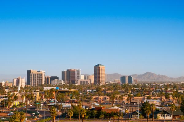 Scottsdale skyline