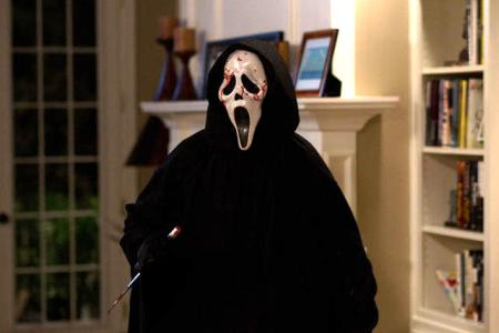 Ghostface is back in Scream 4