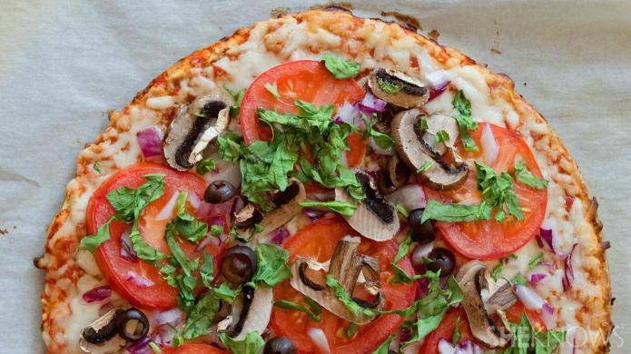 Easy veggie-loaded upgrades to frozen pizza