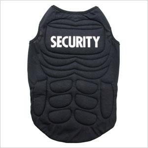 Security guard pet costume