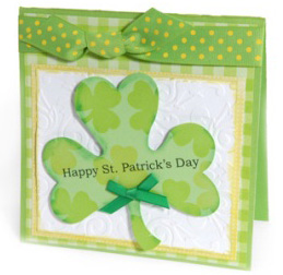 Lucky St. Patrick's Day cards