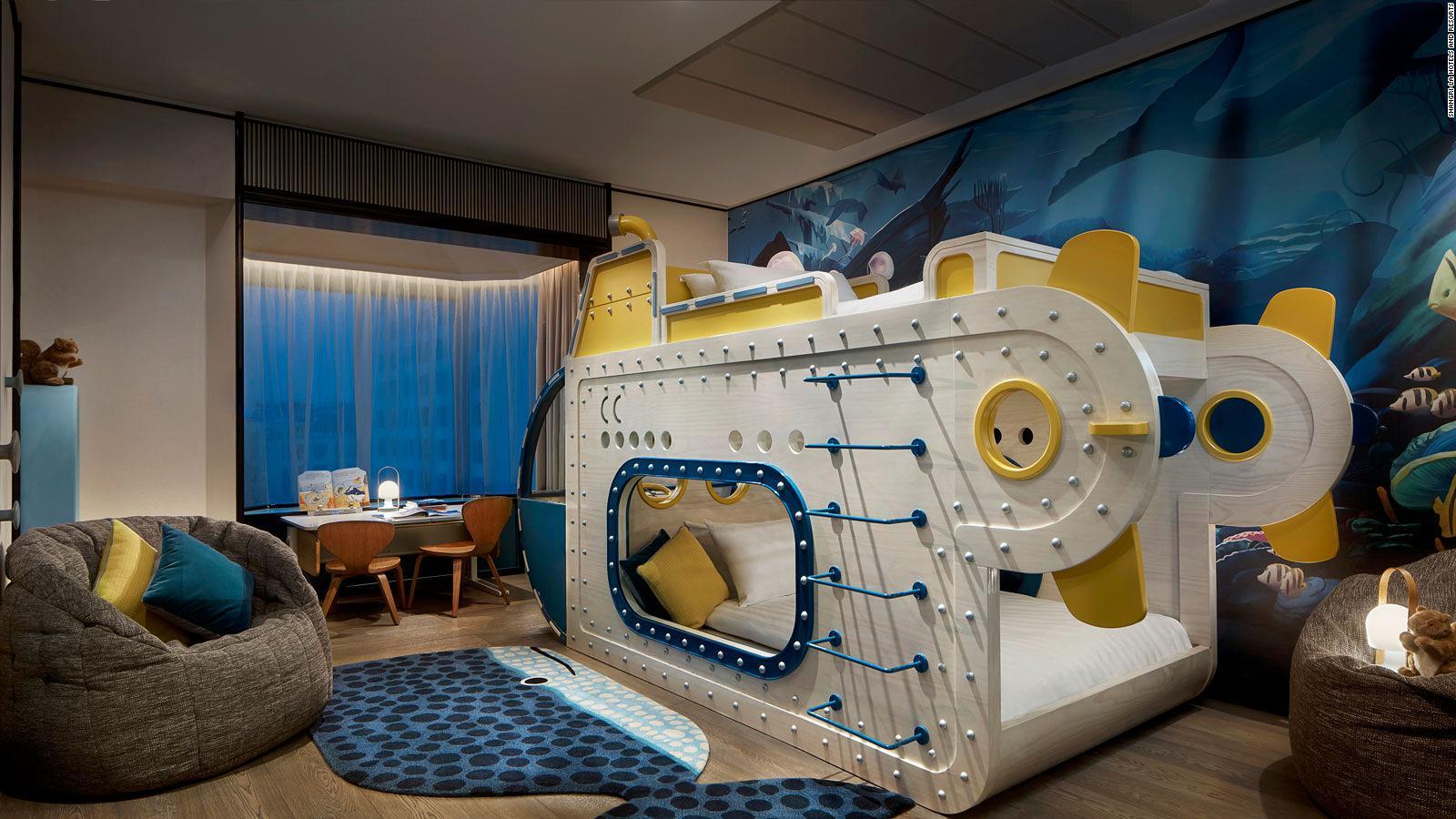 Submarine suite Hotel Shangri-La Singapore