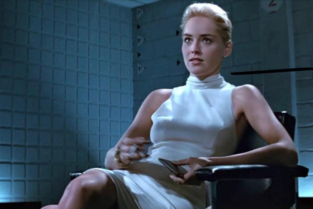 Sharon Stone in 'Basic Instinct'