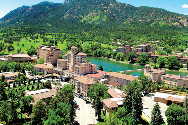 Family-friendly: The Broadmoor