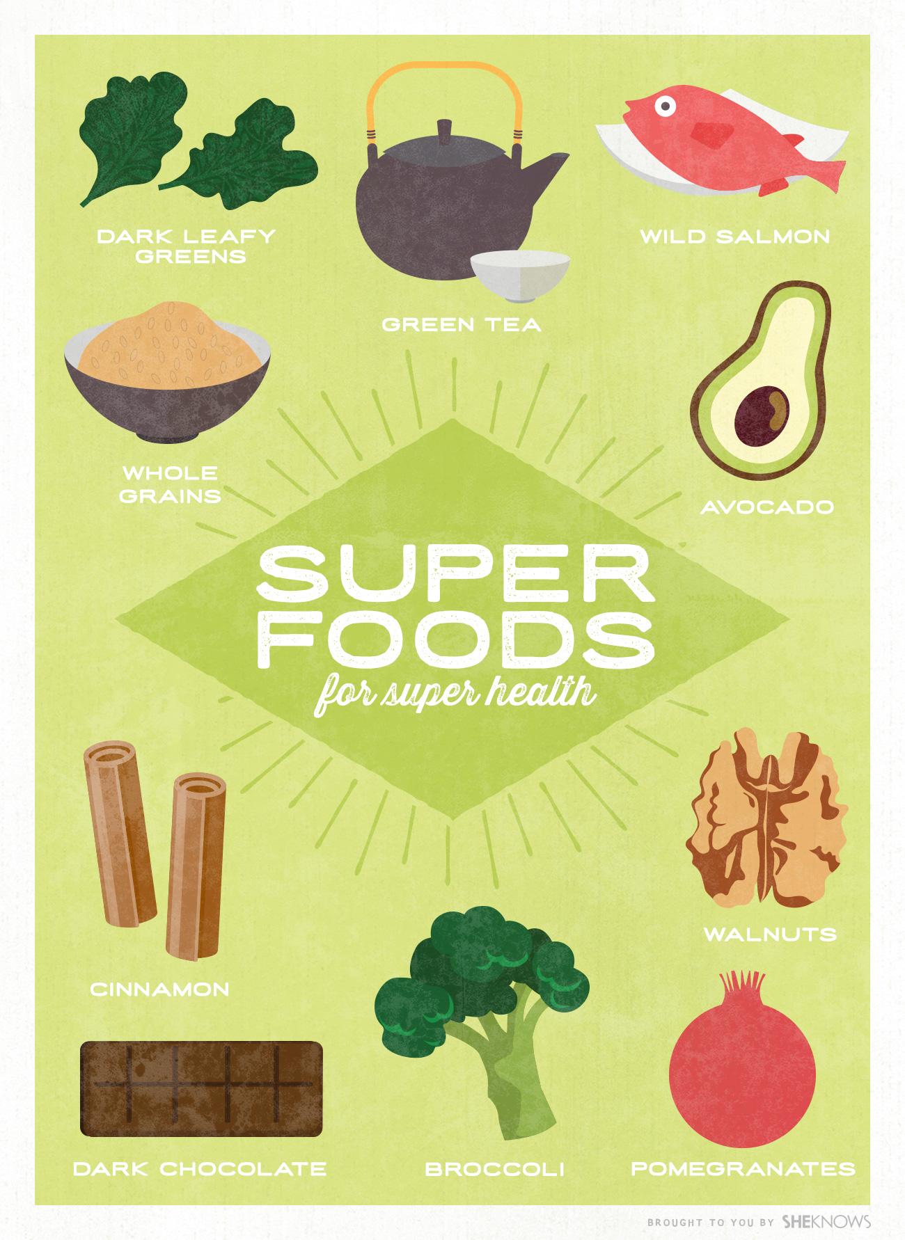 10 Best everyday superfoods