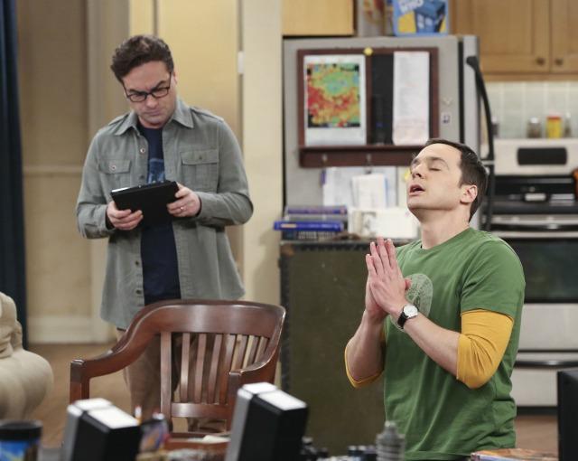 Sheldon and Leonard on The Big Bang Theory