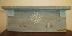 Barn board shelf