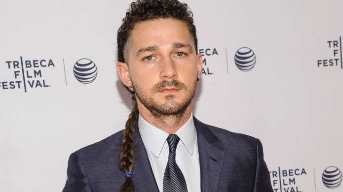 Shia LaBeouf caught on video freestyle