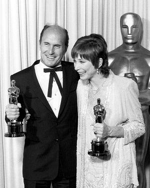Shirley MacLaine and Robert Duvall