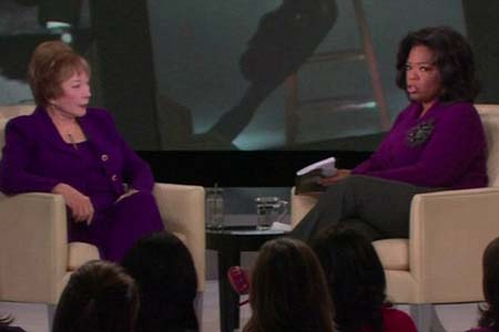 Shirley MacLaine reveals all to Oprah
