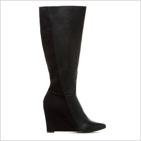 ShoeDazzle Bennett Boots in Black