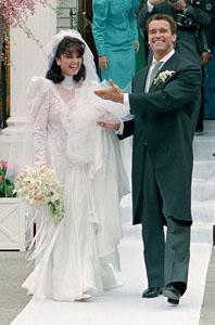 Maria Shriver Arnold Schwarzenegger wedding