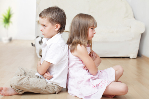 Siblings in conflict