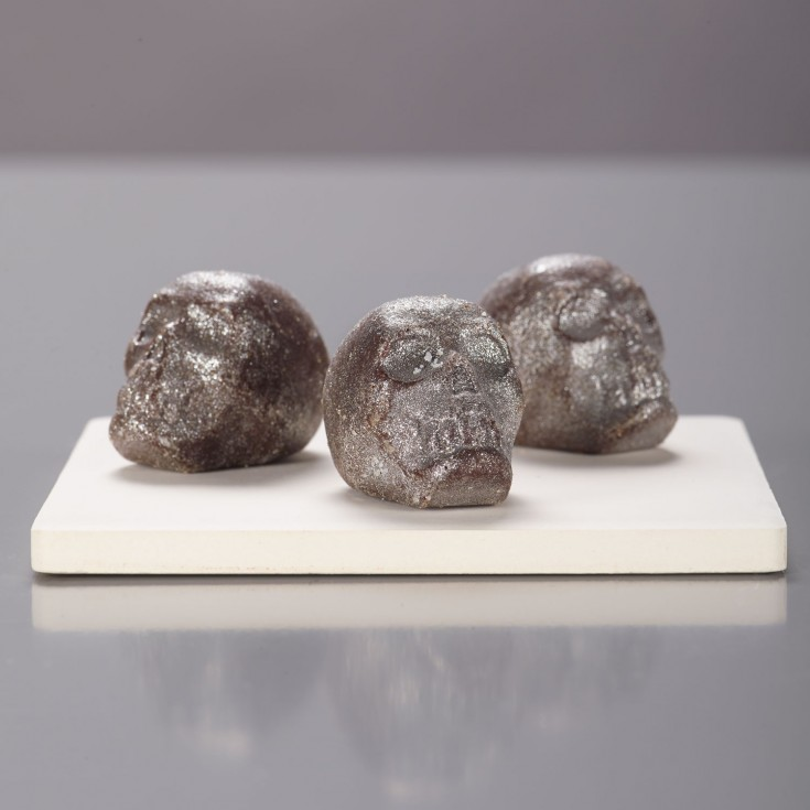 Silver gianduja dark chocolate skills