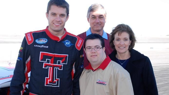 NASCAR family rallies for Down syndrome