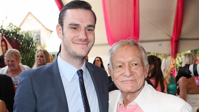 Hugh Hefner's Son Honors Dad in