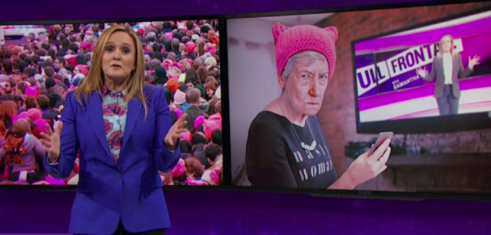 Samantha Bee Wants You to Stop
