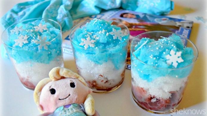 Frozen-inspired slushies — a treat worth