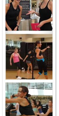 Karina Smirnoff drills us with her