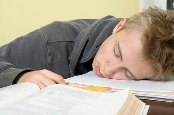Sleeping Teen