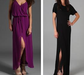 slit dress for everyday fashion week style