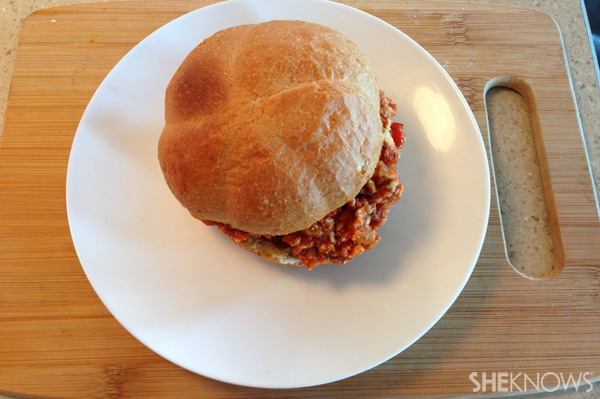 Tex-Mex Chicken sloppy joes