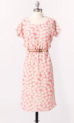 Slouched Chiffon Dress