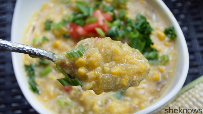 Slow Cooker Sunday: Green chili creamed