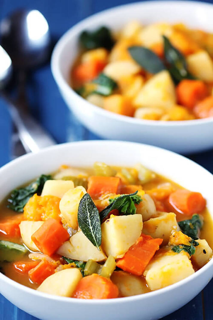 13 Make-Ahead Freezer Meals for Nights When You Just Can't: Slow-Cooker Root Vegetable Stew