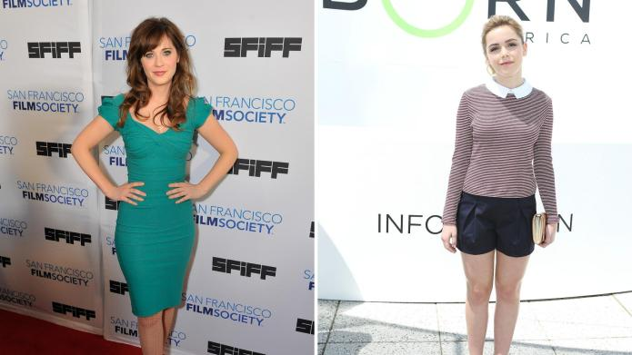 Friday's Fashion Obsessions: Zooey Deschanel and
