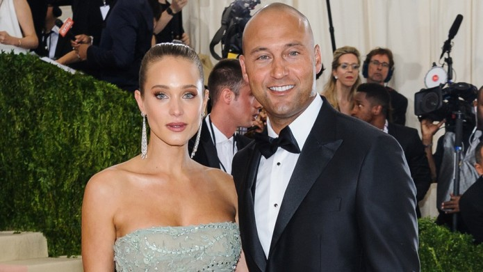 Derek Jeter And Wife Hannah Are