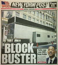 Will Smith on New York Post