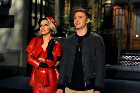 Lady Gaga and Justin Timberlake rock SNL's season finale