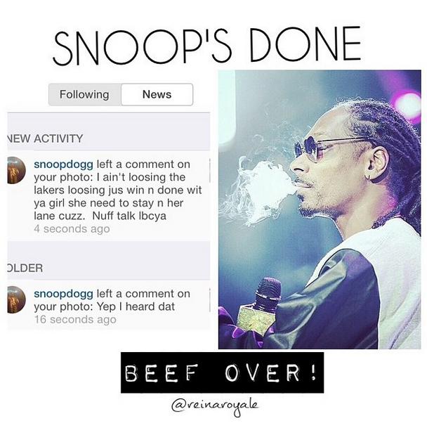 Snoop Dogg says sorry to Iggy Azalea, says their beef is over