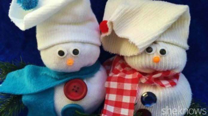 How to make a cute sock