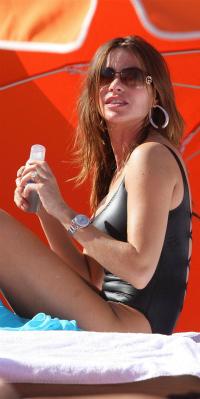 Sofia Vergara on Miami Beach