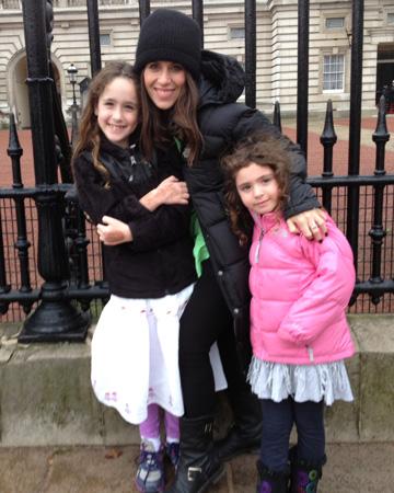 Soleil Moon Frye and daughters