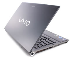 Sony Vaio is lightweight and powerful.