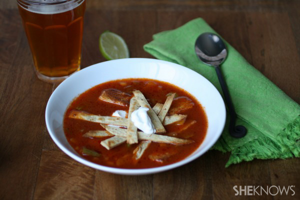 Meatless Monday: Tempeh tortilla soup