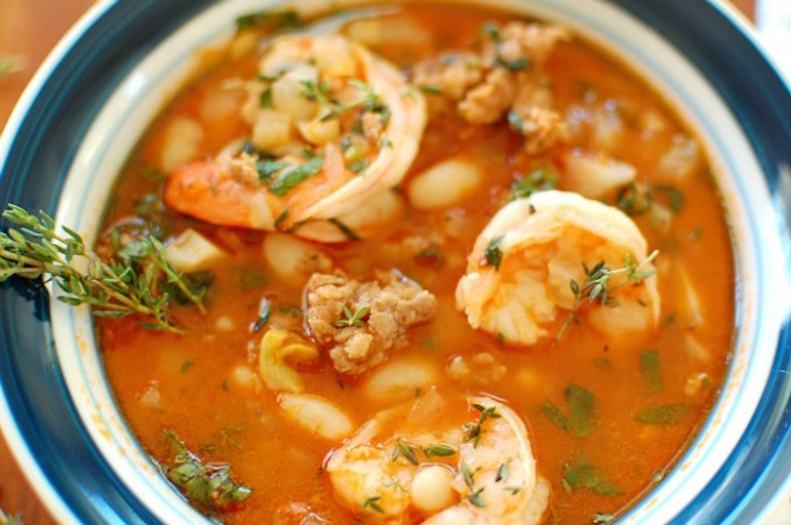 13 Make-Ahead Freezer Meals for Nights When You Just Can't: Shrimp and Sausage Stew
