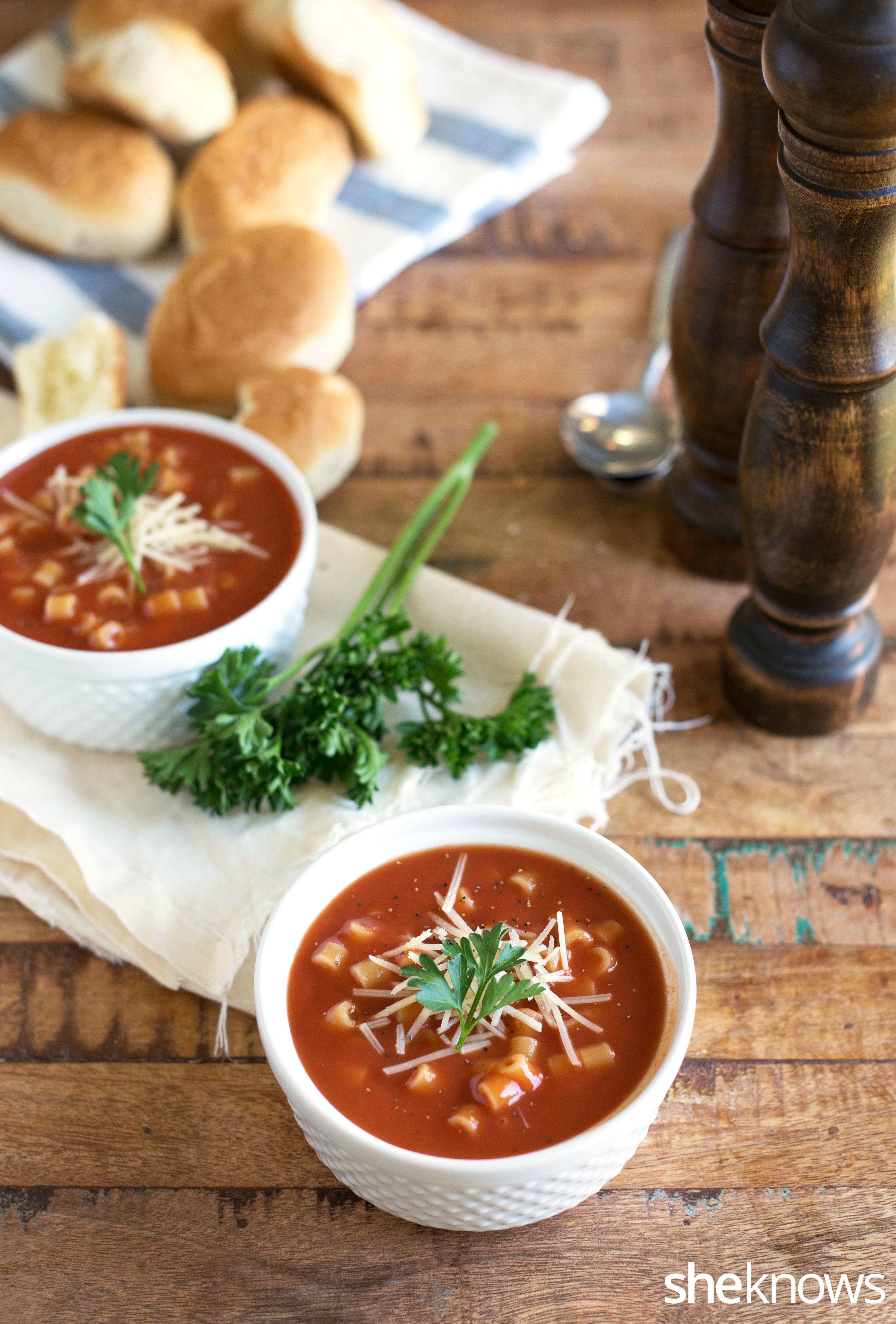 homemade spaghettios soup