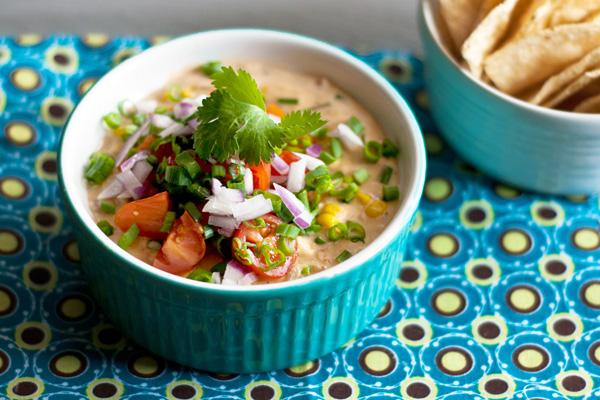 Spicy hot corn dip recipe